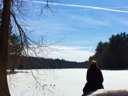 Quiet moment at Gaston Pond