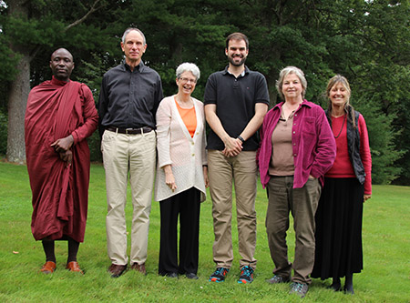 Teaching team for this year's first 3-month retreat