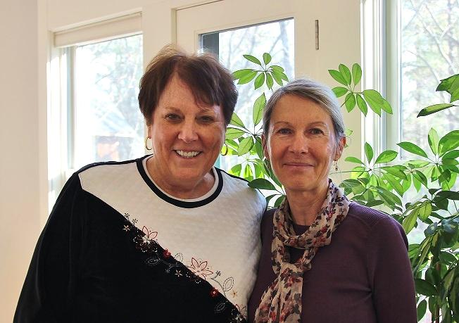 Annie Nugent and Gloria Taraniya Ambrosia