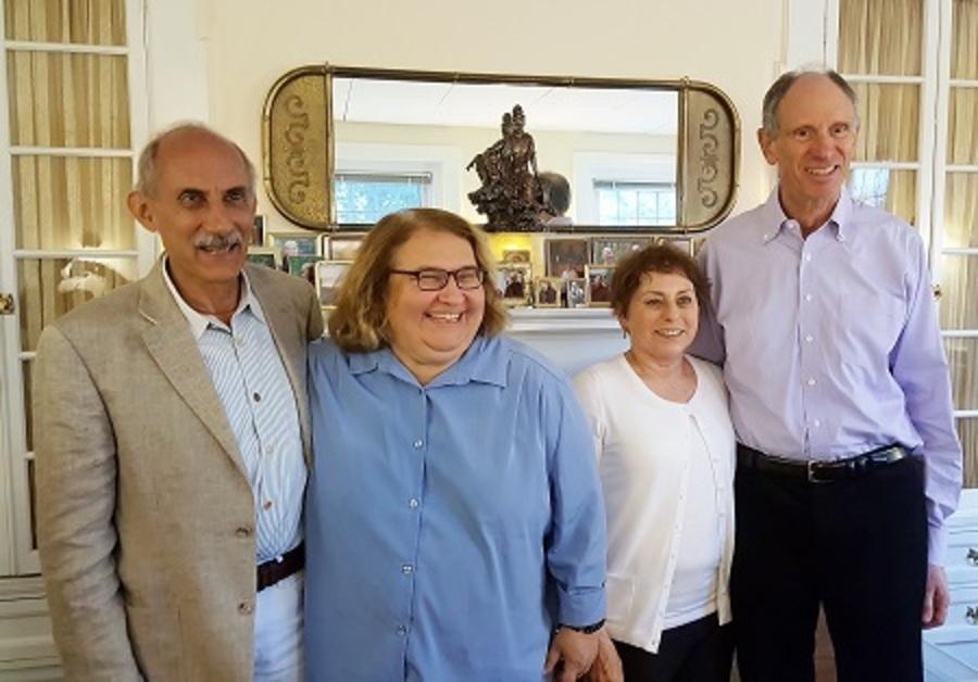 Kornfield, Salzberg, and Goldstein Reunion