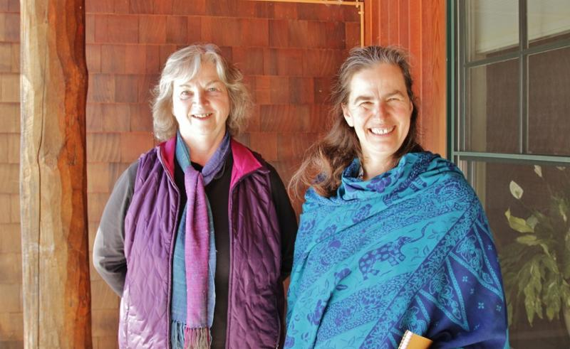 Winnie Nazarko and Caroline Jones