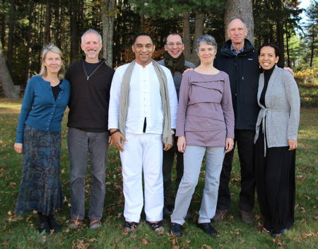 Teaching team for part 2 of our 3-month retreat