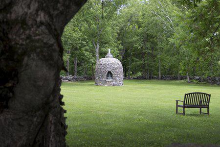 Stone stupa at BCBS