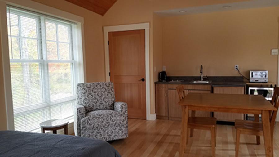 Interior of Teacher Cottage