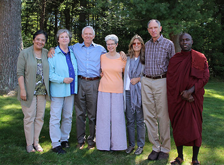 Teaching team for the 3-month retreat