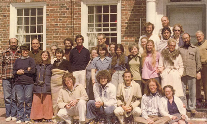 In 1976, a 'Parents and Friends' retreat was offered by those involved with IMS to share their practice.