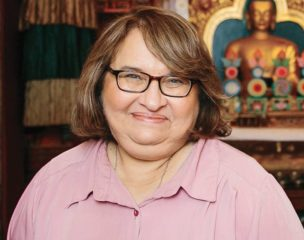 Photograph of Sharon Salzberg
