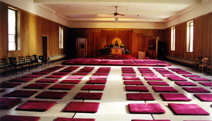After 30 years of service, our beloved meditation hall headed for a renovation in early 2006.