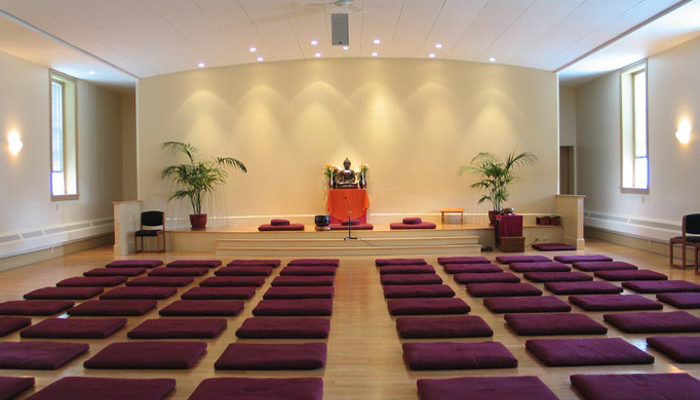 By the middle of 2006, a beautiful new Retreat Center meditation hall was ready to greet incoming retreatants.
