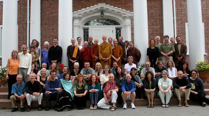 IMS hosted a gathering of insight meditation teachers from around the Western world in July, 2006.
