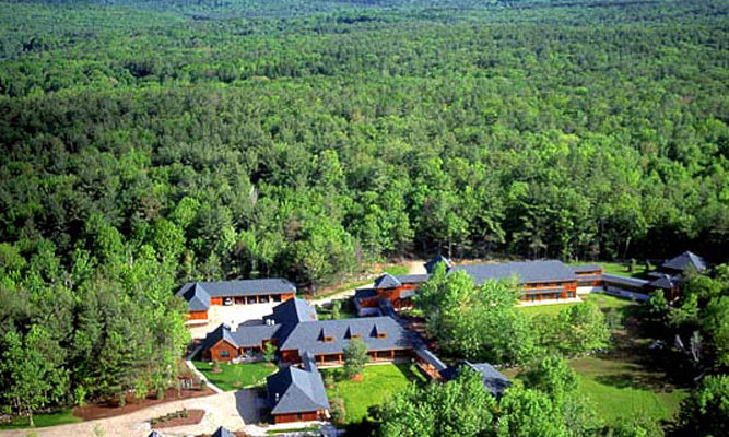 Adjacent to the Retreat Center lies IMS's other facility, the Forest Refuge.