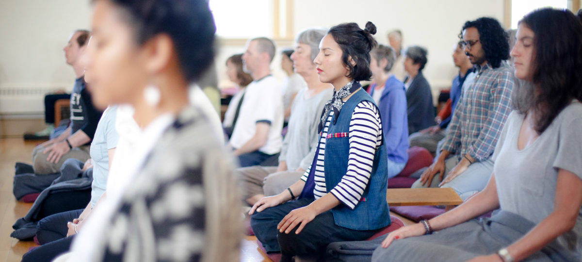 Sit and meditate at IMS retreats