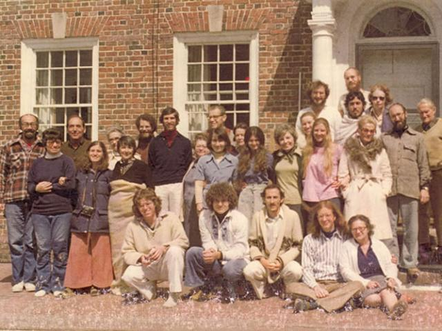 1 08 In 1976, a 'Parents and Friends' retreat was offered by those involved with IMS to share their practice.
