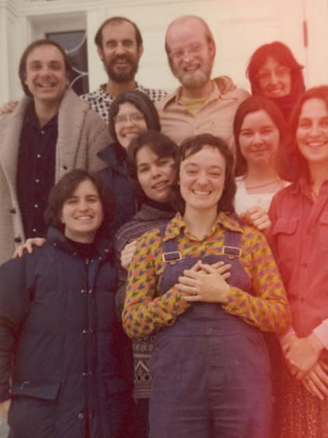 1 16 A dedicated group of staff, 1977.