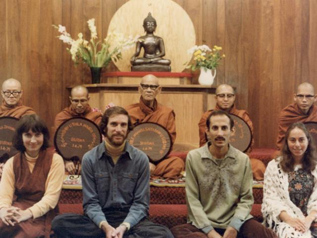 1 21 In 1979, Burmese master Ven. Mahasi Sayadaw (back row center), held a teaching authorization ceremony with our founders.