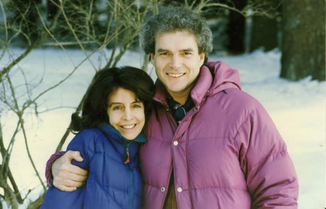 2 03 Michele McDonald and Steven Smith, 1992.