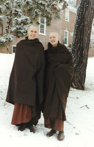 2 07 Sister Sundara and Sister Sirripana in front of IMS.