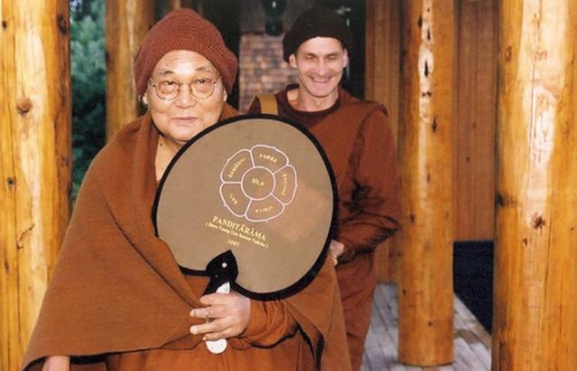 3 08 Sayadaw U Pandita taught the inaugural period of practice at the Forest Refuge, May/June, 2003. He returned again in 2005.