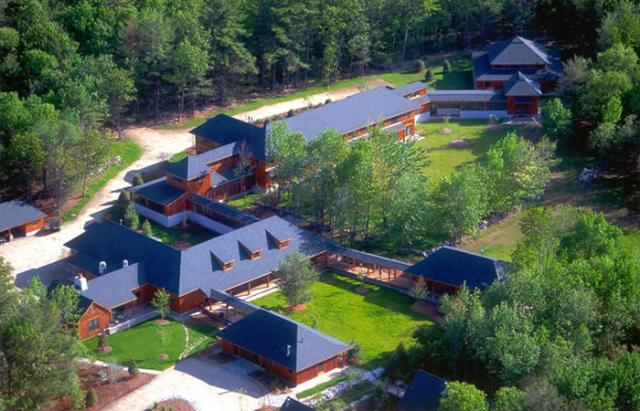 3 09 Aerial of the Forest Refuge.