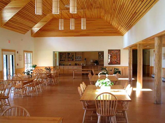 T16 The Forest Refuge dining hall.